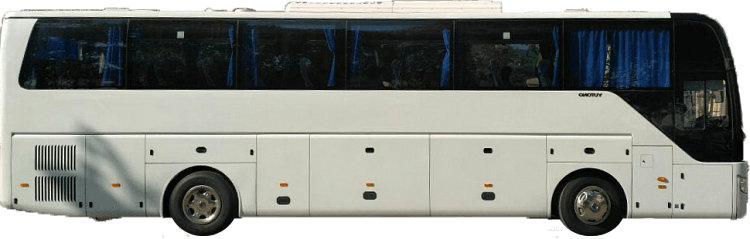 автобуса YUTONG аренда